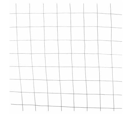 Nature rete metallica a maglia quadrata grigia 0 5x2 5 m for Rete ombreggiante grigia