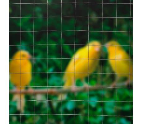 Nature rete metallica a maglia quadrata grigia 1x2 5 m for Rete ombreggiante grigia