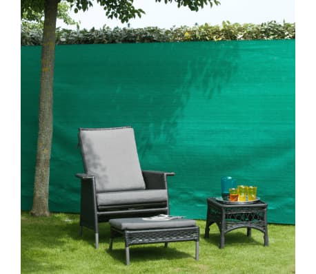 Nature Garten-Sichtschutz Zaunblende PE 1,5x5 m Grün[2/3]