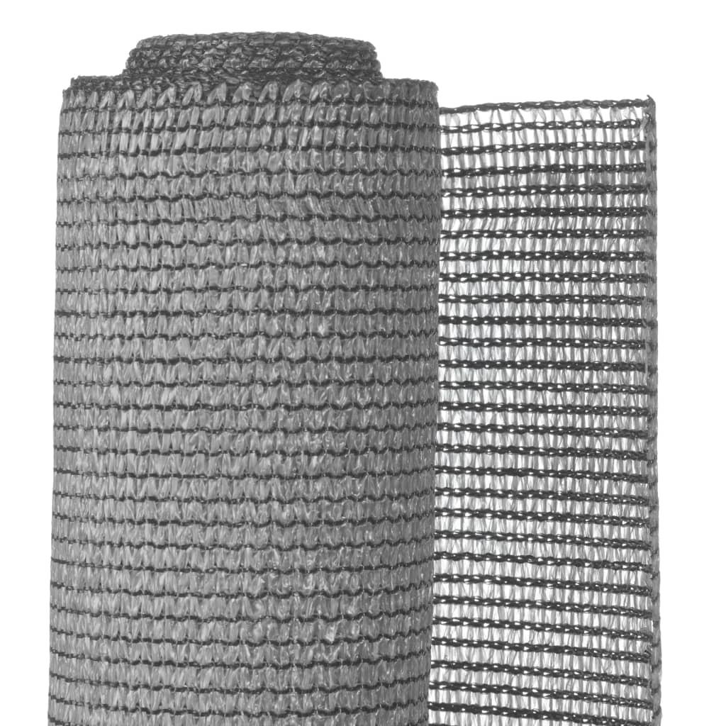 Nature Zahradní protipohledová clona PE 1 x 3 m šedá