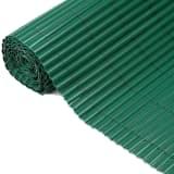 Nature Clôture de jardin PVC Vert 1,5 x 5 m 6050332