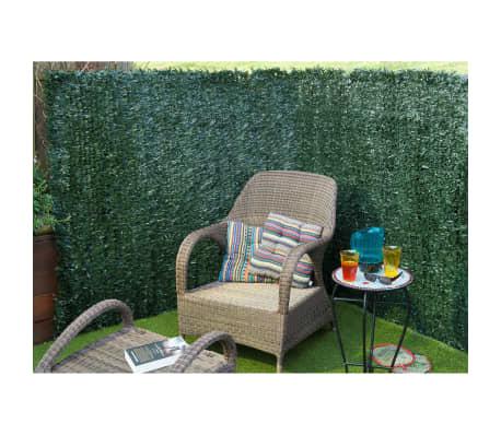 Nature recinto da giardino siepe artificiale verde 1 5x3m - Giardino artificiale ...