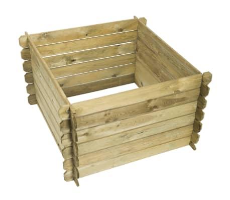 nature bac compost en bois 650 l 6070480. Black Bedroom Furniture Sets. Home Design Ideas