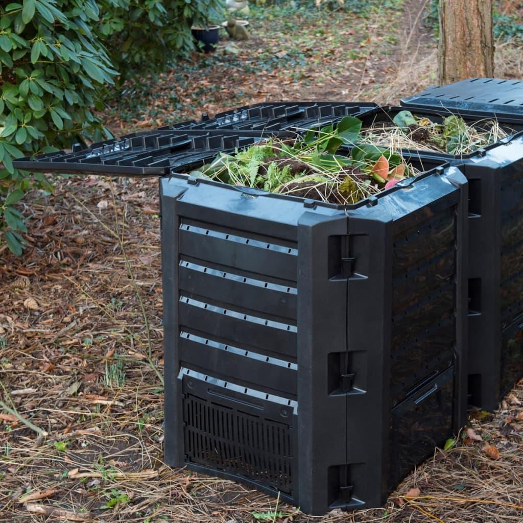 Nature Kompostér černý 1200 l 6071483