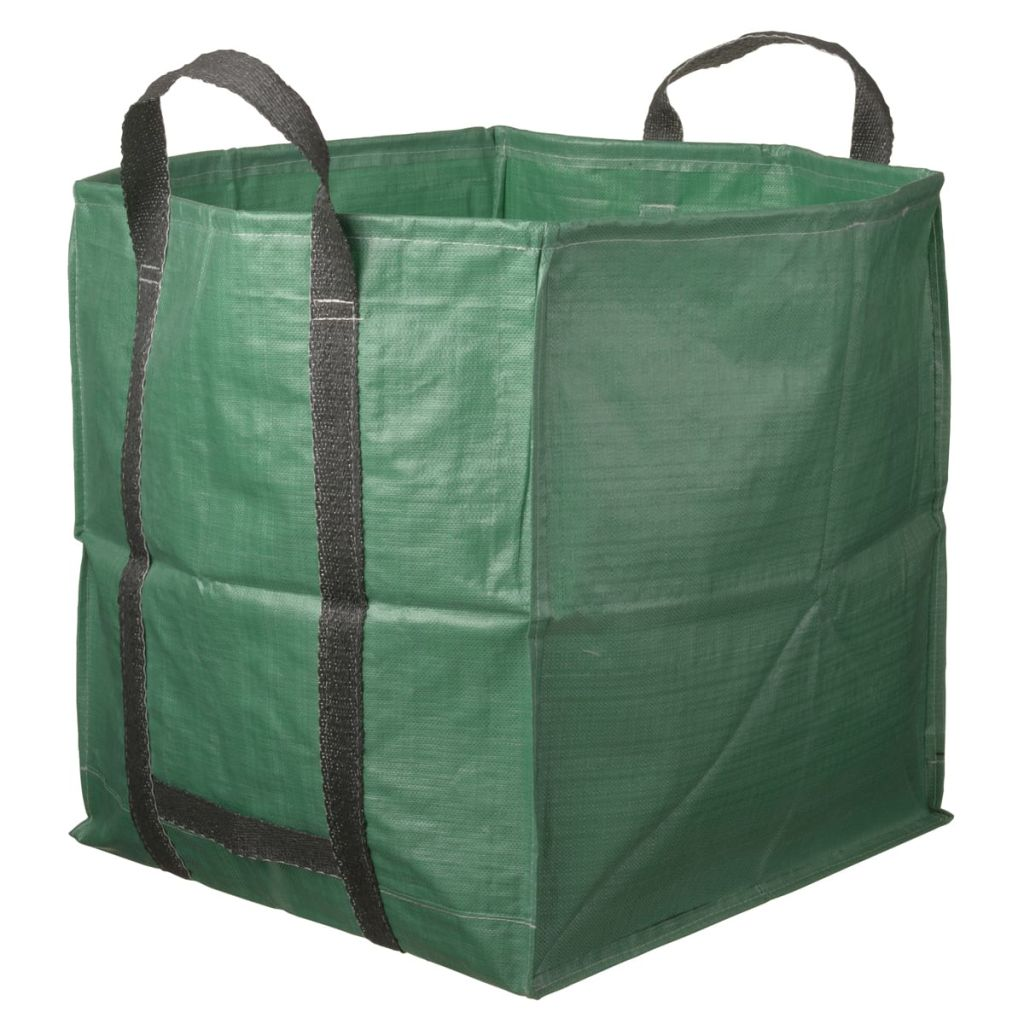 Afbeelding van Nature afvalzak multifunctioneel vierkant groen 325 L 6072401