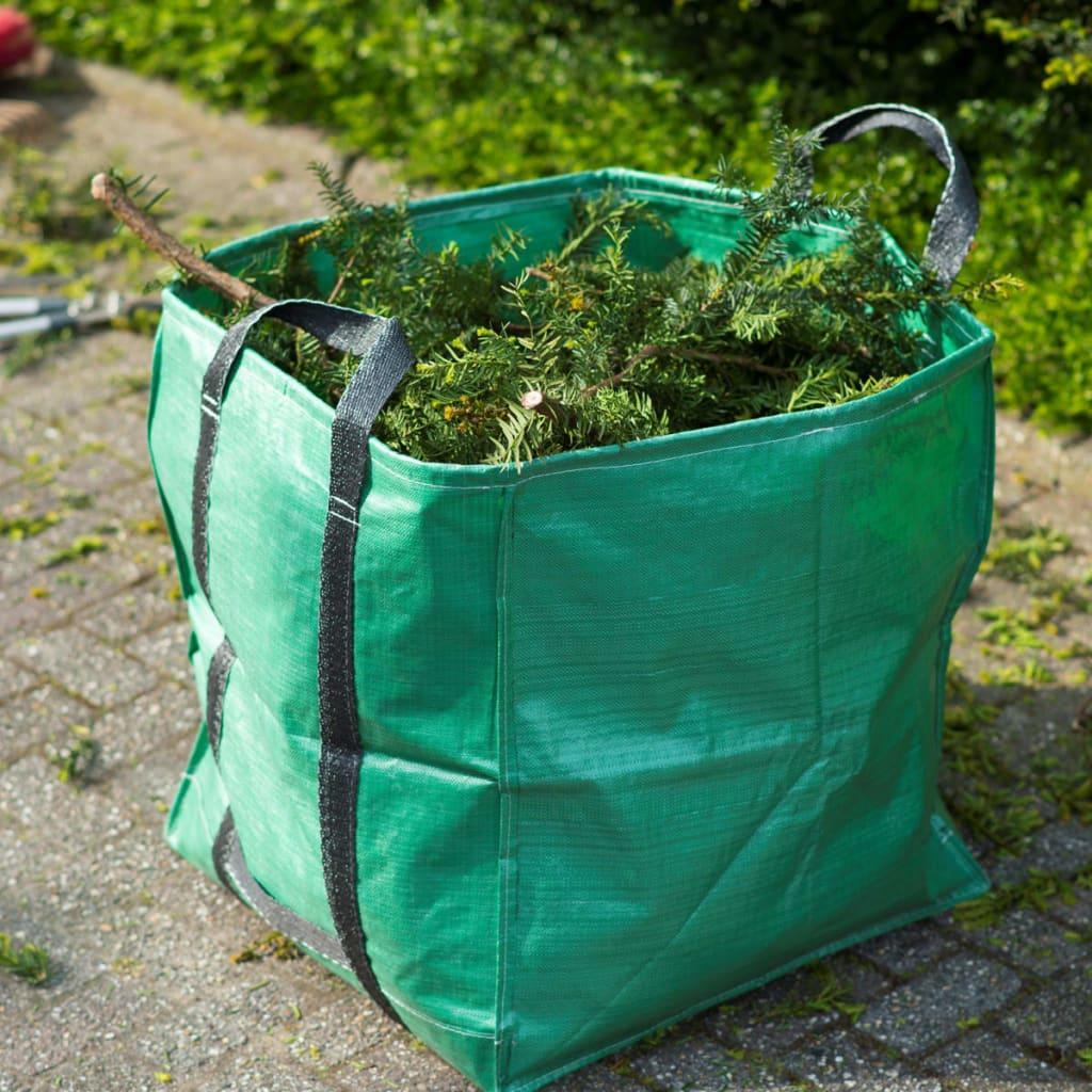 Nature Sac de deșeuri pentru grădină, verde, 325 L, pătrat, 6072401 vidaxl.ro