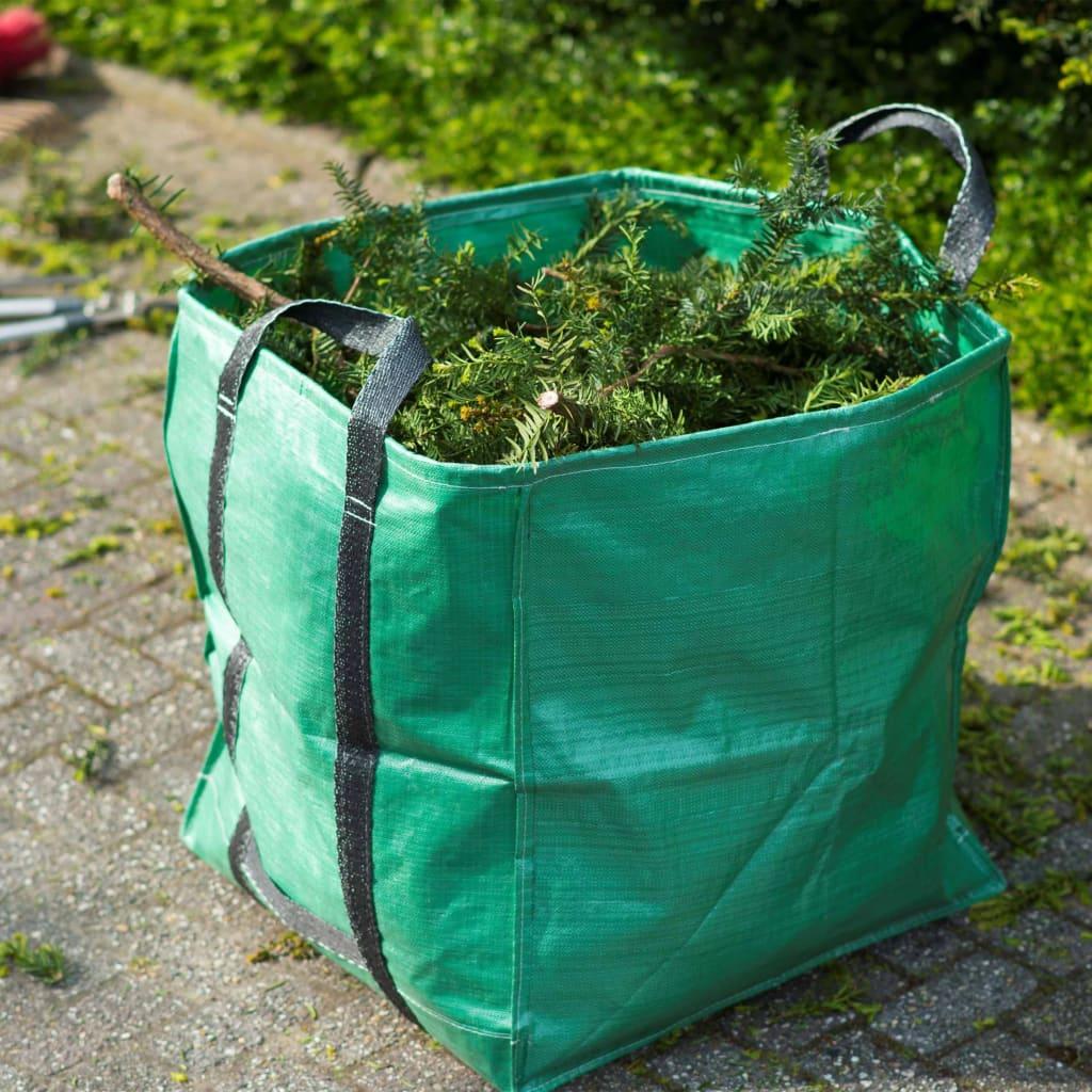 Nature Sac de deșeuri pentru grădină, verde, 148 L, pătrat vidaxl.ro