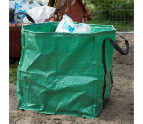 Nature sac de déchet de jardin carré 252 L verte 6072405[4/6]
