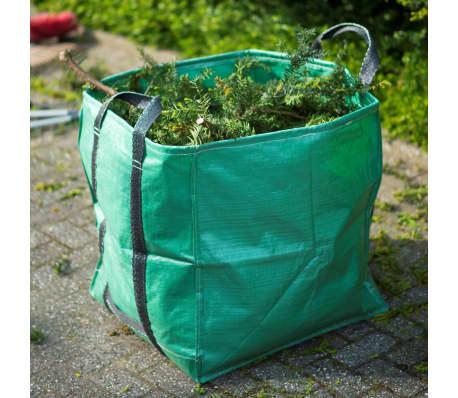 Nature sac de déchet de jardin carré 252 L verte 6072405[5/6]