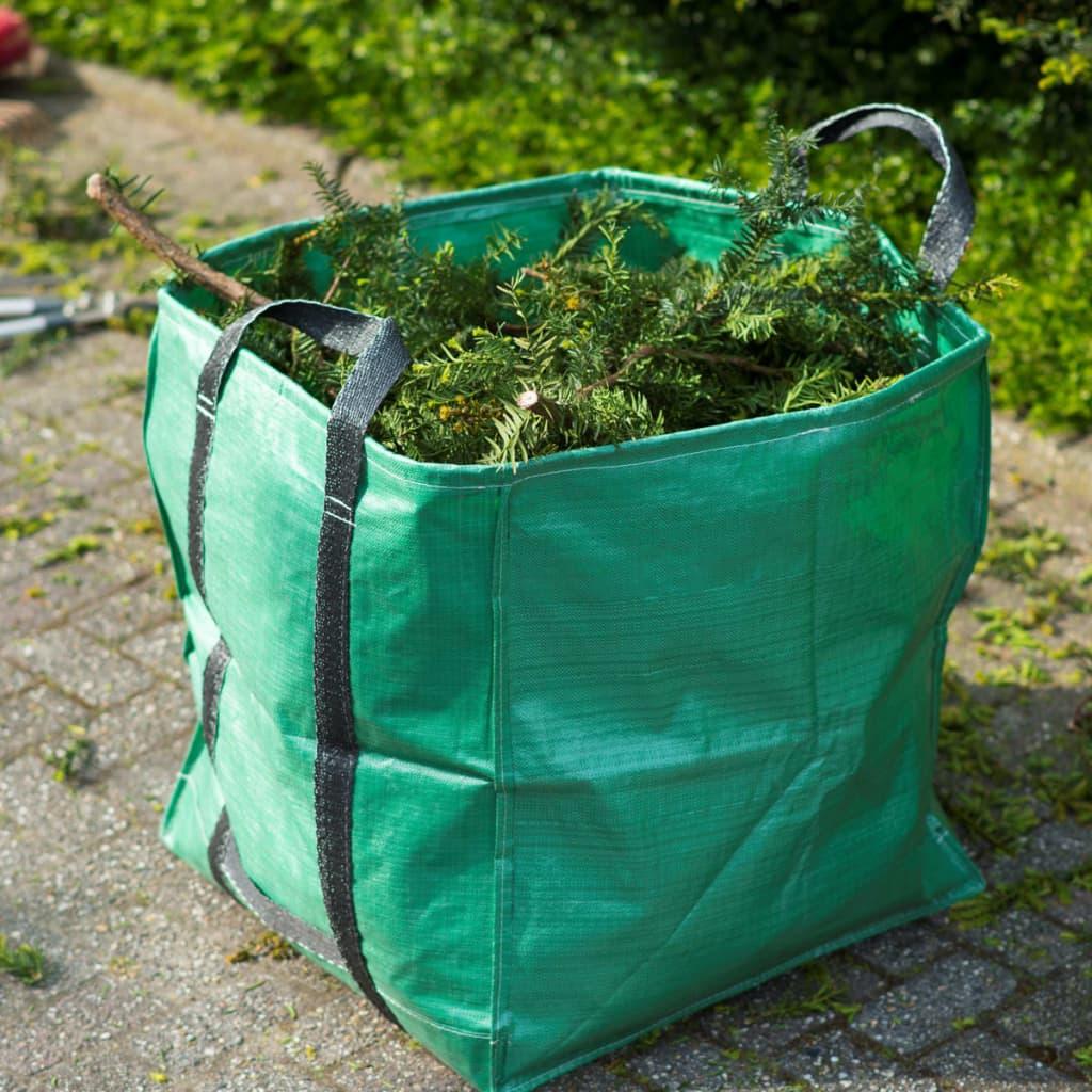 Nature Sac de deșeuri pentru grădină, verde, 252 L, pătrat, 6072405 vidaxl.ro