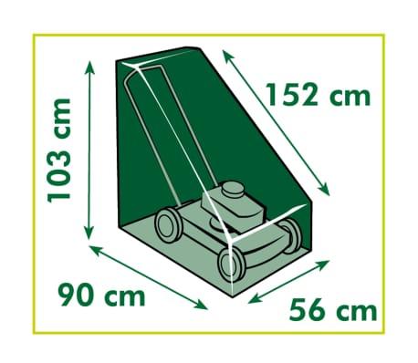 Nature Housse de tondeuse à gazon 103x90x152 cm[4/4]