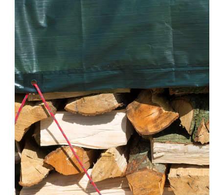 Nature afdekzeil hout 5 x 6 m PE groen 6072420[3/5]
