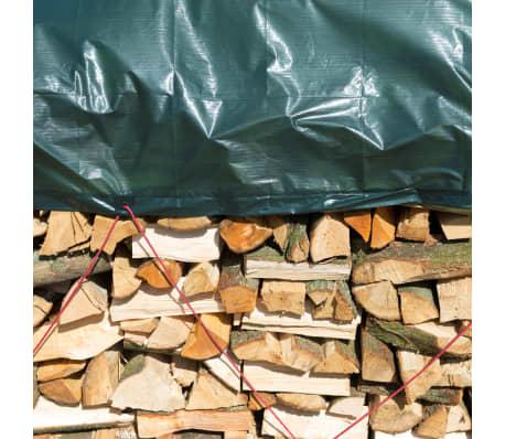 Nature afdekzeil hout 5 x 6 m PE groen 6072420[4/5]