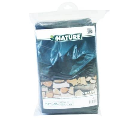 Nature afdekzeil hout 5 x 6 m PE groen 6072420[5/5]