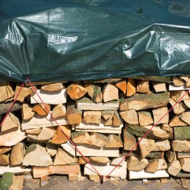 Nature afdekzeil hout 5 x 6 m PE groen 6072420[1/5]