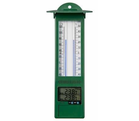 Nature Termómetro digital de exterior temperatura máxima y mínima