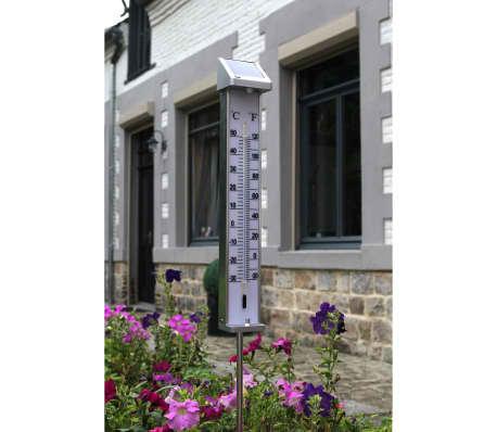 Nature Außenthermometer mit solarbetriebenem LED-Licht 6080066[4/5]