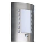 Smartwares væglampe med PIR-sensor 60 W krom 5000.086