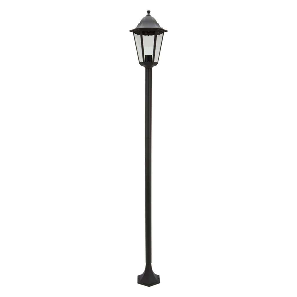 Smartwares Lampă cu stâlp de grădină, 60 W, negru, 175 cm CLAS5000.035 imagine vidaxl.ro