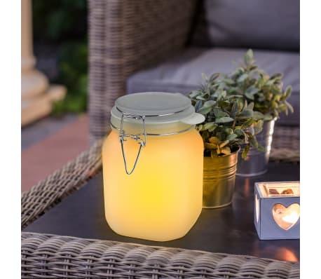 Smartwares Einmachglas-Leuchte Glas 0,06 W Weiß GTS-001-DW[4/7]