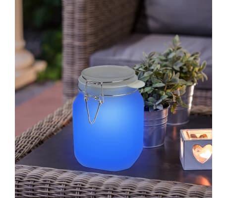 Smartwares Einmachglas-Leuchte Glas 0,06 W Weiß GTS-001-DW[5/7]