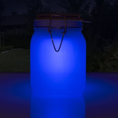 Smartwares Einmachglas-Leuchte Glas 0,06 W Weiß GTS-001-DW[3/7]