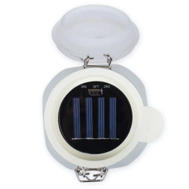 Smartwares Einmachglas-Leuchte Glas 0,06 W Weiß GTS-001-DW[7/7]