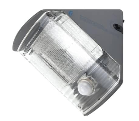 acheter ranex lampe murale solaire avec capteur pir 0 5 w noir pas cher. Black Bedroom Furniture Sets. Home Design Ideas