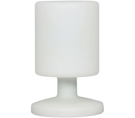 smartwares lampe de table d 39 ext rieur led 5 w blanche. Black Bedroom Furniture Sets. Home Design Ideas