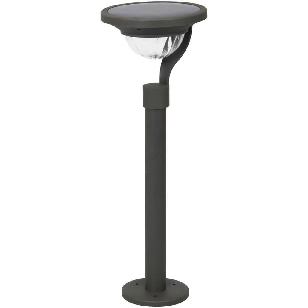 Smartwares Solcelle LED stolpelys 0,4 W svart 5000.500