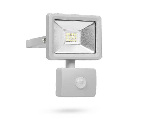 Smartwares Reflektor LED z czujnikiem, 10 W, szary, SL1-DOB10