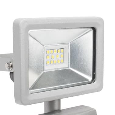Smartwares Reflektor LED z czujnikiem, 10 W, szary, SL1-DOB10[7/11]