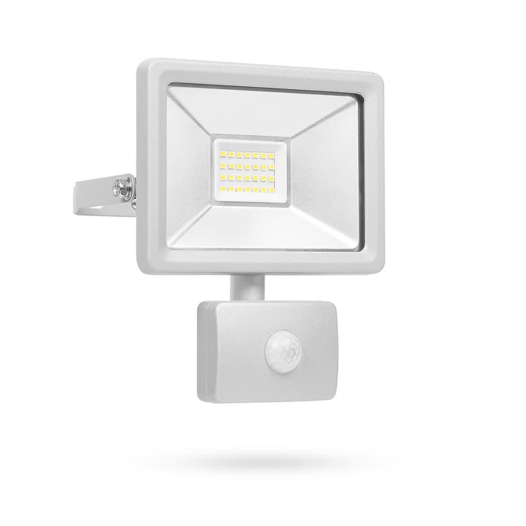 Afbeelding van Smartwares LED-beveiligingslamp met sensor 20 W grijs SL1-DOB20