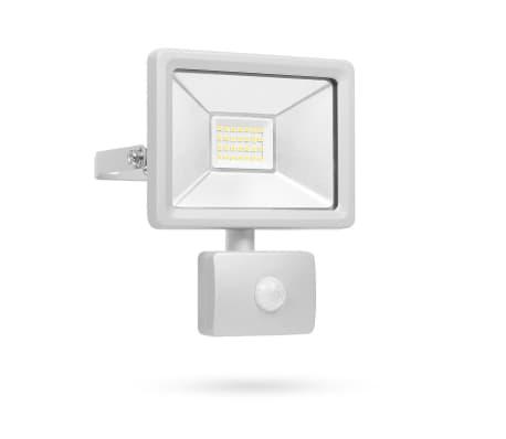 acheter smartwares lampe led avec capteur 20 w gris sl1 dob20 pas cher. Black Bedroom Furniture Sets. Home Design Ideas