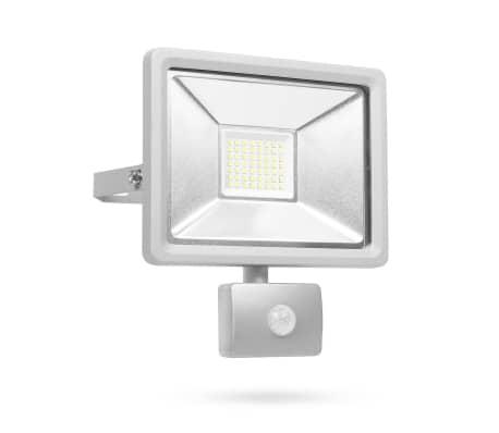 Smartwares Lampe LED avec capteur 30 W Gris SL1-DOB30[1/11]