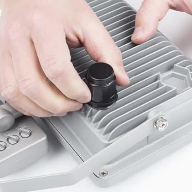 Smartwares Lampe LED avec capteur 30 W Gris SL1-DOB30[8/11]