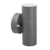 Smartwares op og ned LED-væglampe 6 W grå GWL-176-HG