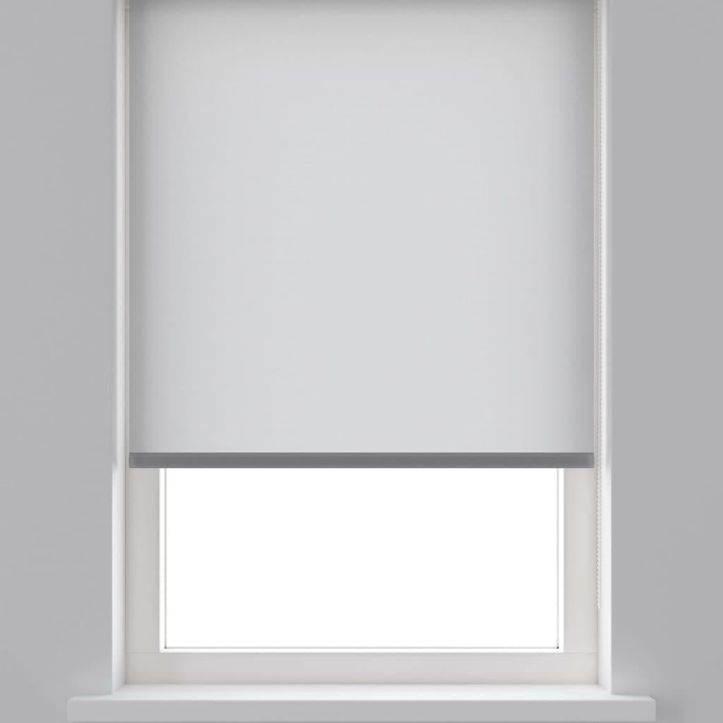 Decosol Rullegardin gjennomsiktig hvit 90x190 cm