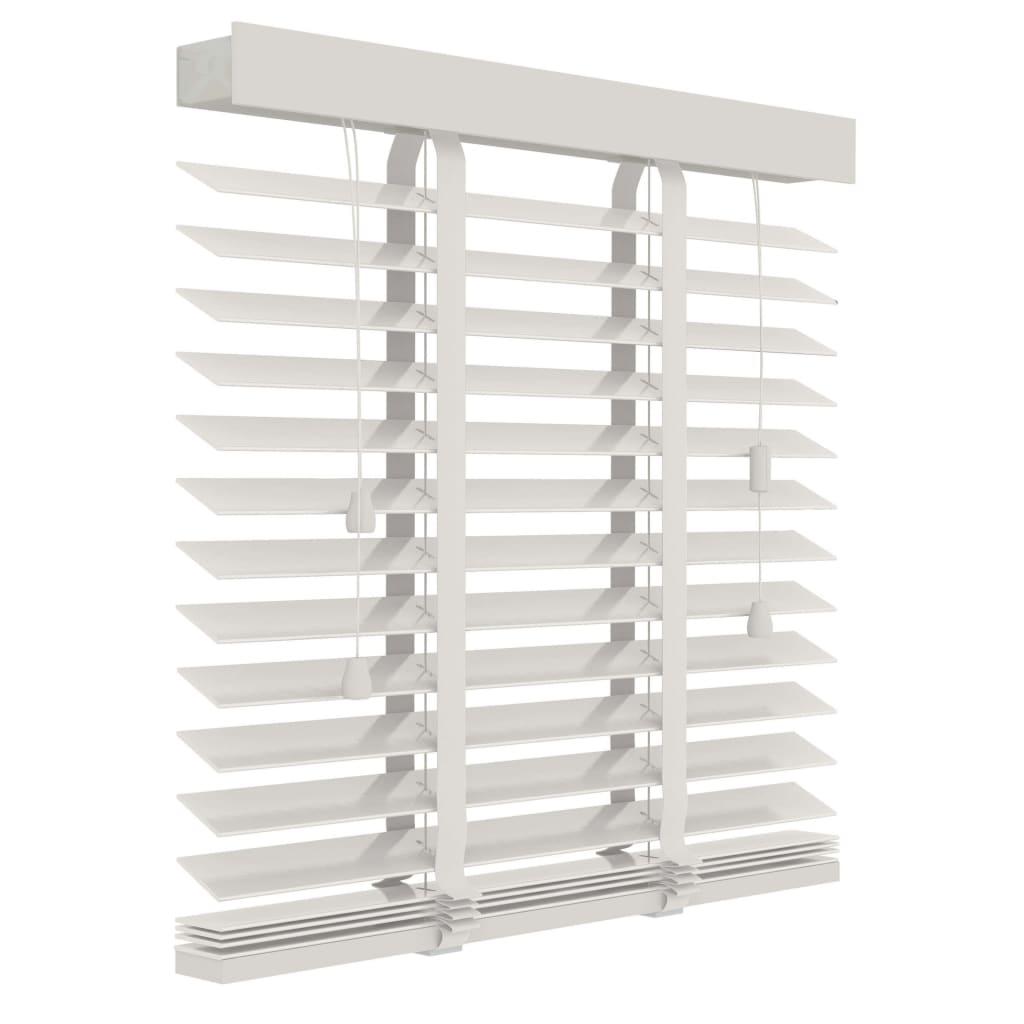 Afbeelding van Decosol Horizontale jaloezie hout 50mm wit 100 x 130cm