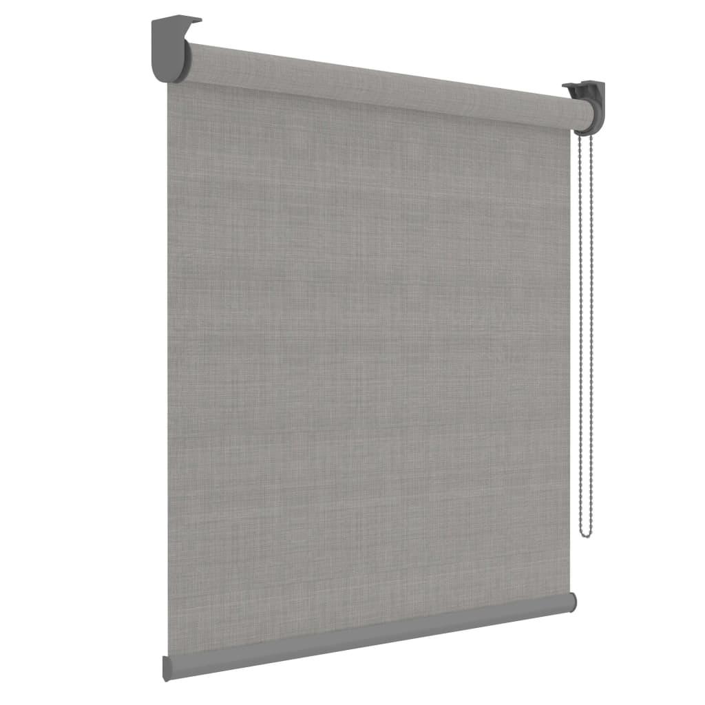 Afbeelding van Decosol Rolgordijn Deluxe doorschijnend 120x190 cm grijs