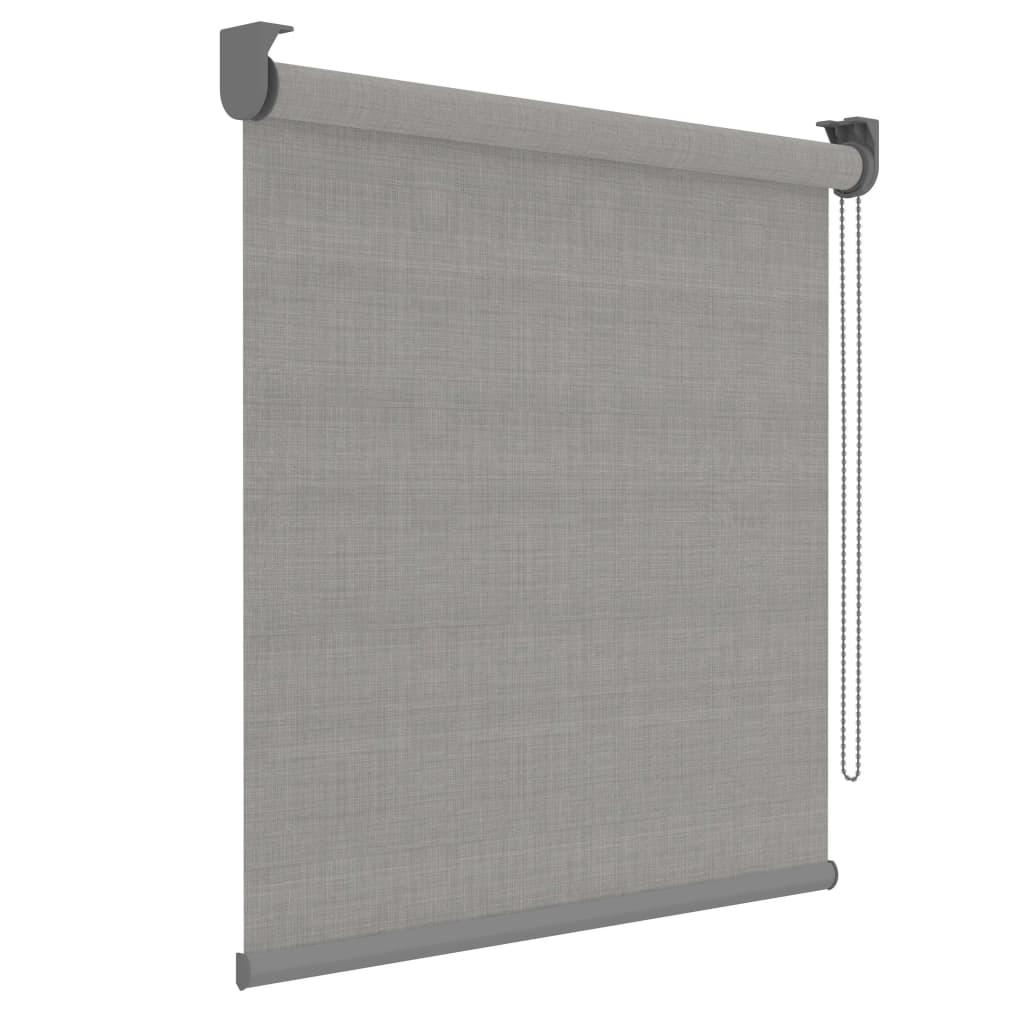 Decosol Rullegardin Deluxe grå gjennomsiktig 150x190 cm