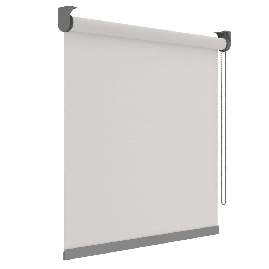 Decosol Rullegardin Deluxe gjennomsiktig hvit med mønster 60x190 cm