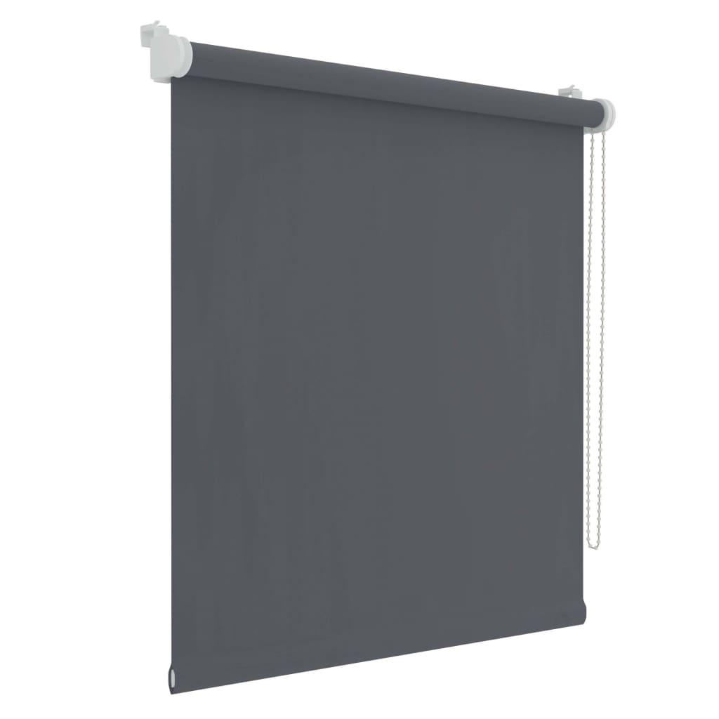Decosol Minirullegardin lystett antrasitt 52x160 cm
