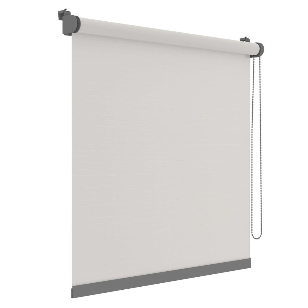 Decosol Minirullegardin Deluxe uni gjennomsiktig hvit 42x160 cm