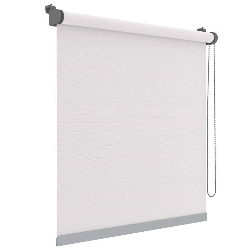 Decosol Minirullegardin Deluxe uni gjennomsiktig hvit stripe 52x160 cm