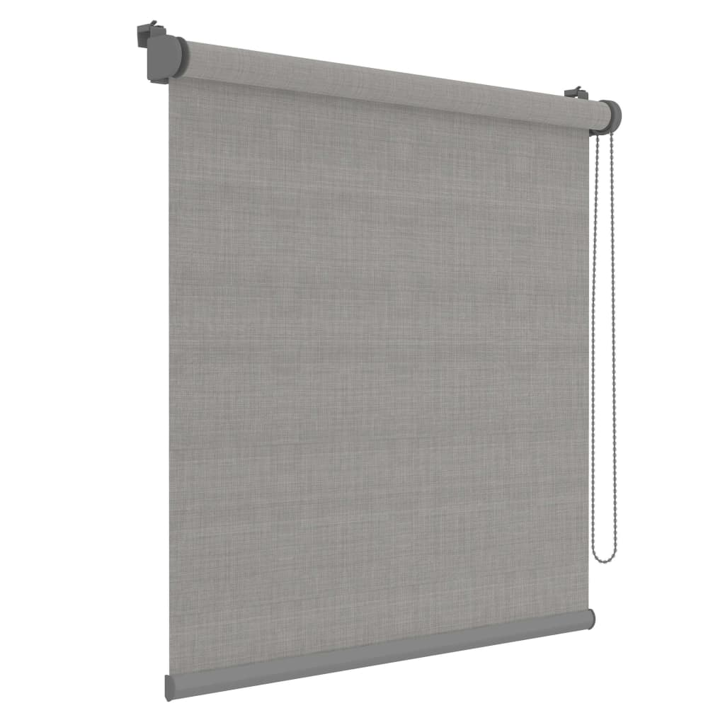 Decosol Minirullegardin Deluxe grå 72x190 cm
