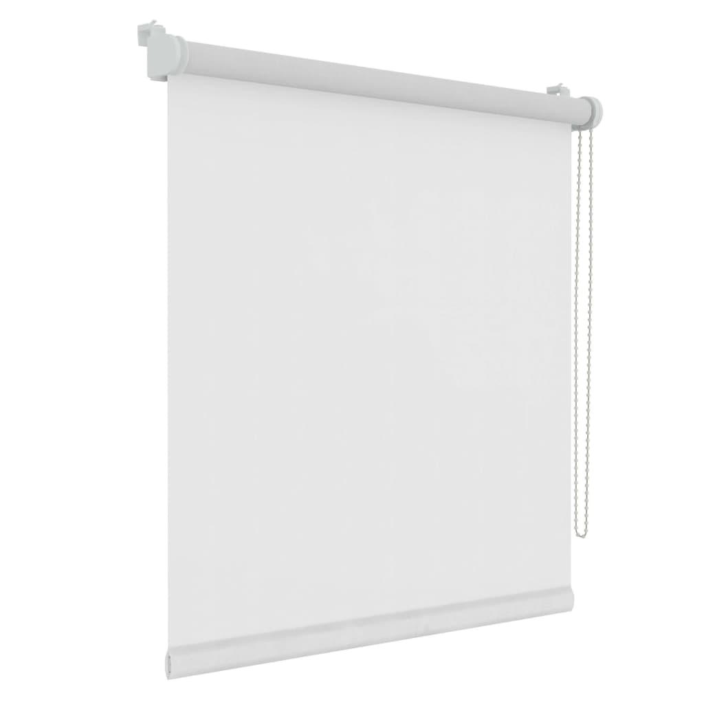 Decosol Minirullegardin gjennomsiktig uni hvit 57x160 cm