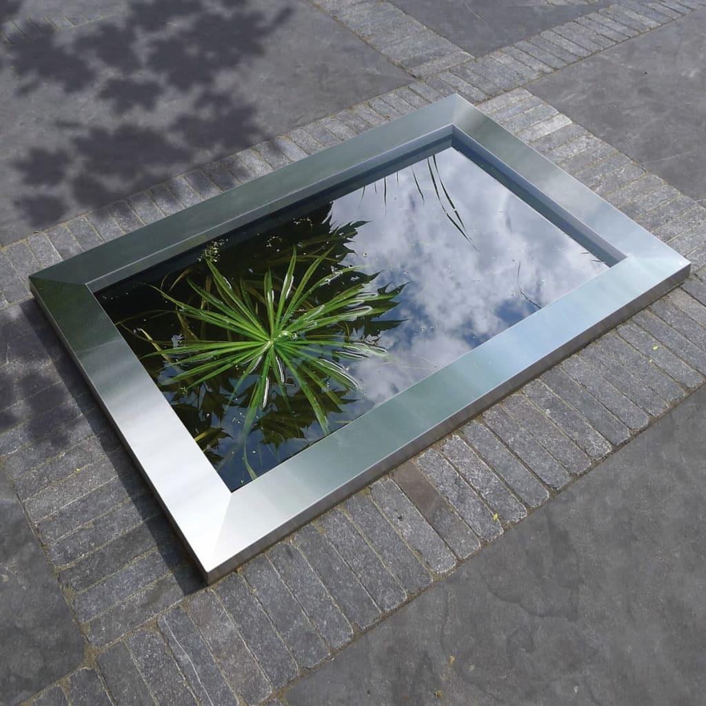 Cadru de piscină Ubbink Quadra C3 din oțel inoxidabil poza vidaxl.ro