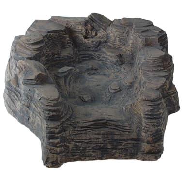 Ubbink sezione verticale cascata per laghetto colorado for Cascata per laghetto