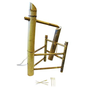 Shishi Odoshi Prezzo.Ubbink 1221602 Gioco D Acqua In Bambu Shishi Odoshi Vidaxl It